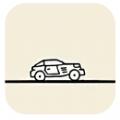 卡通画线汽车游戏